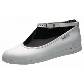 Chaussures de Swing Lindy Hop: Teeny strap BLANC-BLEYER