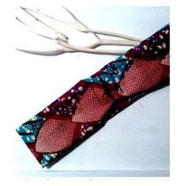 HEADBAND CHEVEUX en tissu imprimé Wax réglable