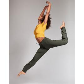 PANTALON de danse unisexe: affeto stripes -TEMPS DANSE