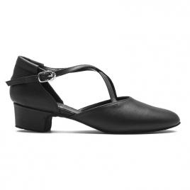 Chaussures de Danse Broadway cuir brides croisées RUMPF