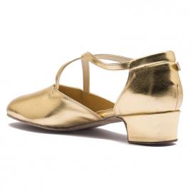 Chaussures de Danse Broadway Silver brides croisées RUMPF