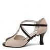 HOLLY Werner Kern - Chaussures de danse en cuir beige et noir