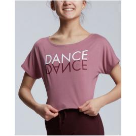 Tee-shirt crop top DANCE-TEMPS DANSE