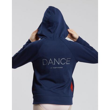 SWEAT zippé LOGO DANCE Tamara - TEMPS DANSE