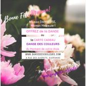 Carte Cadeau DANSE DES COULEURS