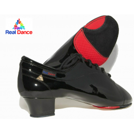 Chaussures Latines Compétition vernie Homme-REAL DANCE®