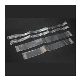 Bretelles de rechange transparentes réglables pour brassières ou soutien-gorge - DANSEZVOUS