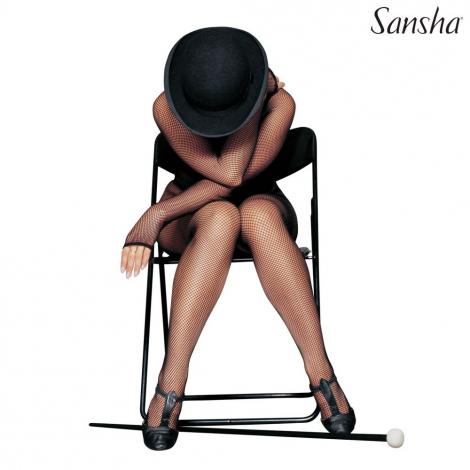BODY combinaison résille à pieds - SANSHA
