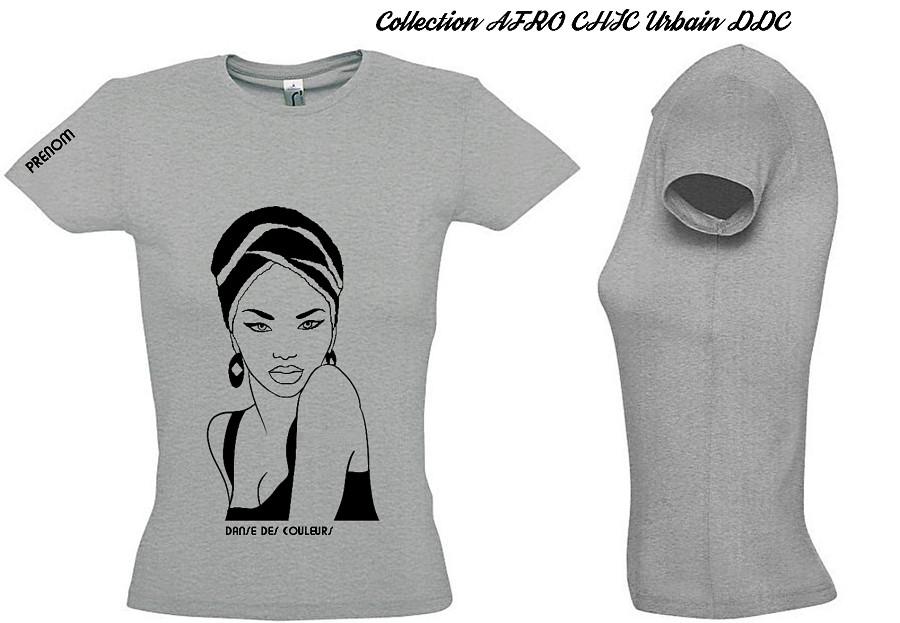 Imprimé Guérande Shirt Personnalisé Femme À Africaine Tee EH9YID2W