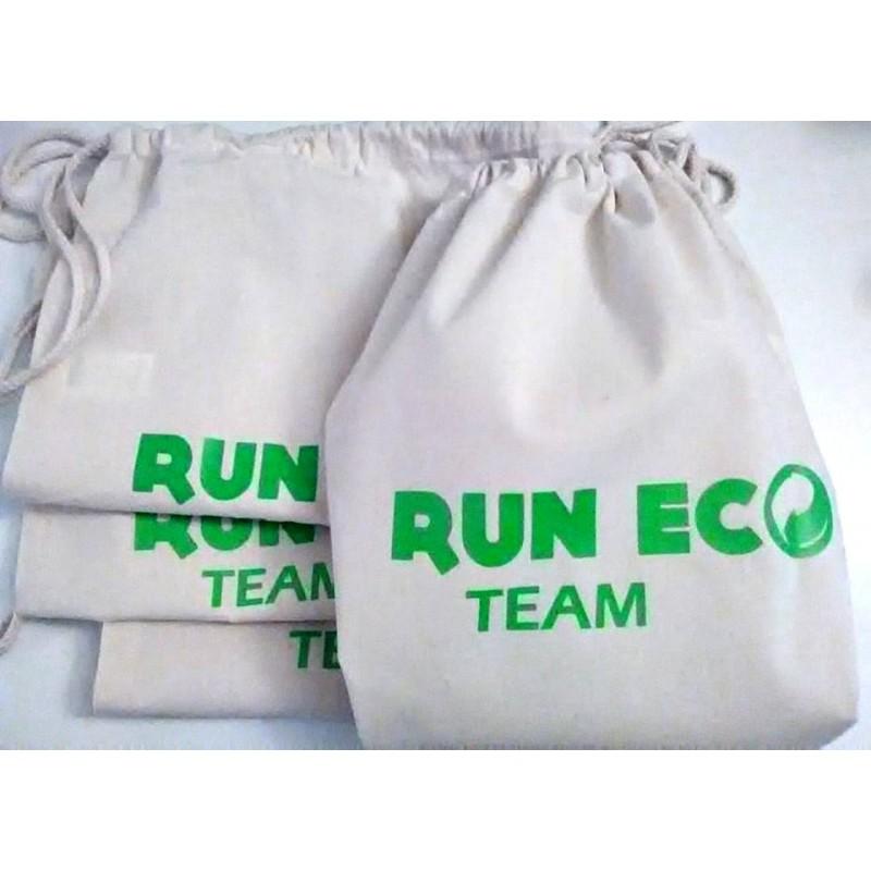 Assez en coton Personnalisé RUN ECO TEAM TV14