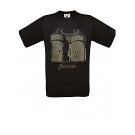 Tee Shirt NOIR : La porte Saint Michel GUERANDE