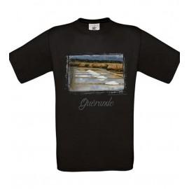Tee Shirt NOIR : Pays Blanc GUERANDE