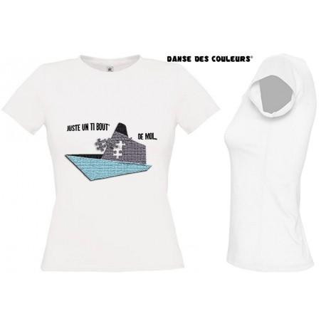 Tee Shirt PUZZLE - Vacances Tiboutdemoi