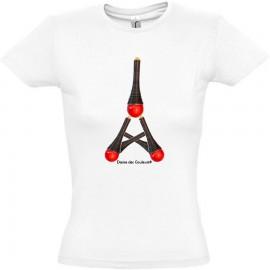 Tee Shirt Femme MODE AU BIJOU 'RED tower'