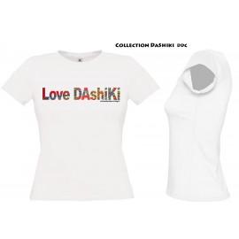 Tee Shirt Femme : Collection LOVE DASHIKI
